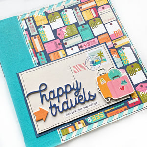 Happy Travels 6x8 Album Kit