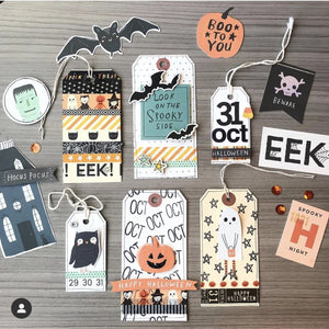 Hey Pumpkin Die Cut Ephemera