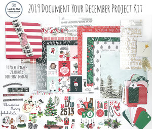 2019 Document Your December Album Kit