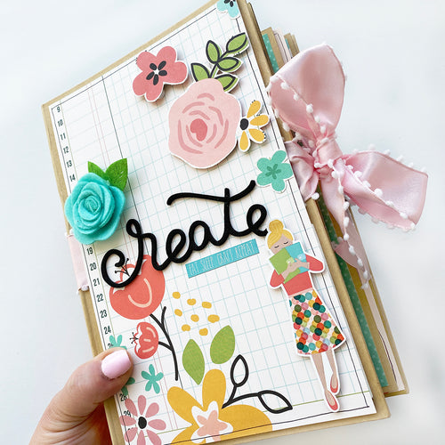 Hey Crafty Girl Mini Book Kit