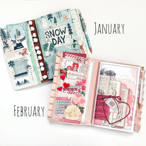 Winter Traveler's Notebook Kit