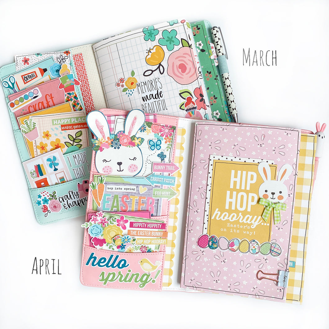 Spring Traveler's Notebook Kit