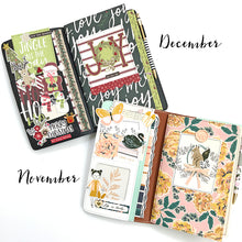 Load image into Gallery viewer, November/December Traveler's Notebook Kit