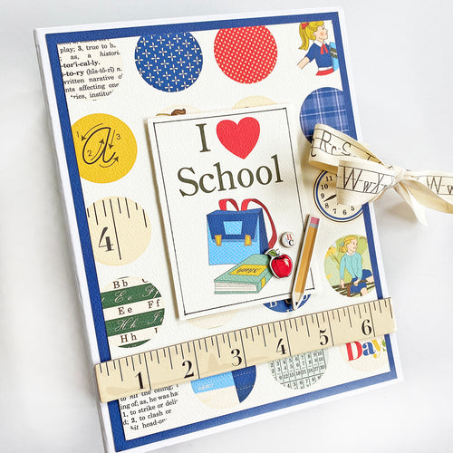 School Days 6x8 Mini Book Kit
