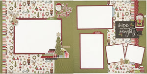 Believe in the Magic of Christmas Layout Kit