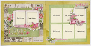 Beautiful Botanicals Layout Kit