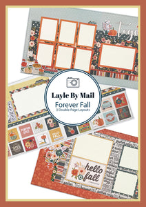 Forever Fall Layout Kit