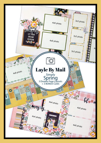 Simply Spring Layout Kit