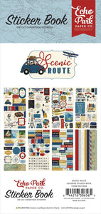 Scenic Route Sticker Book