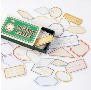 Label Stickers - Vintage Labels
