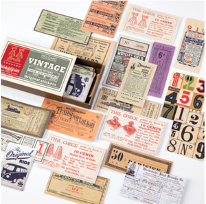 Label Stickers - Vintage Tickets & Coupons