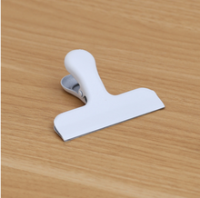 Load image into Gallery viewer, Large Metal Clip - White