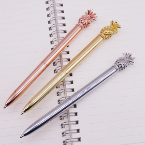 Rose Gold Pineapple Pen
