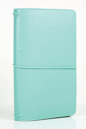 Teal Traveler's Notebook