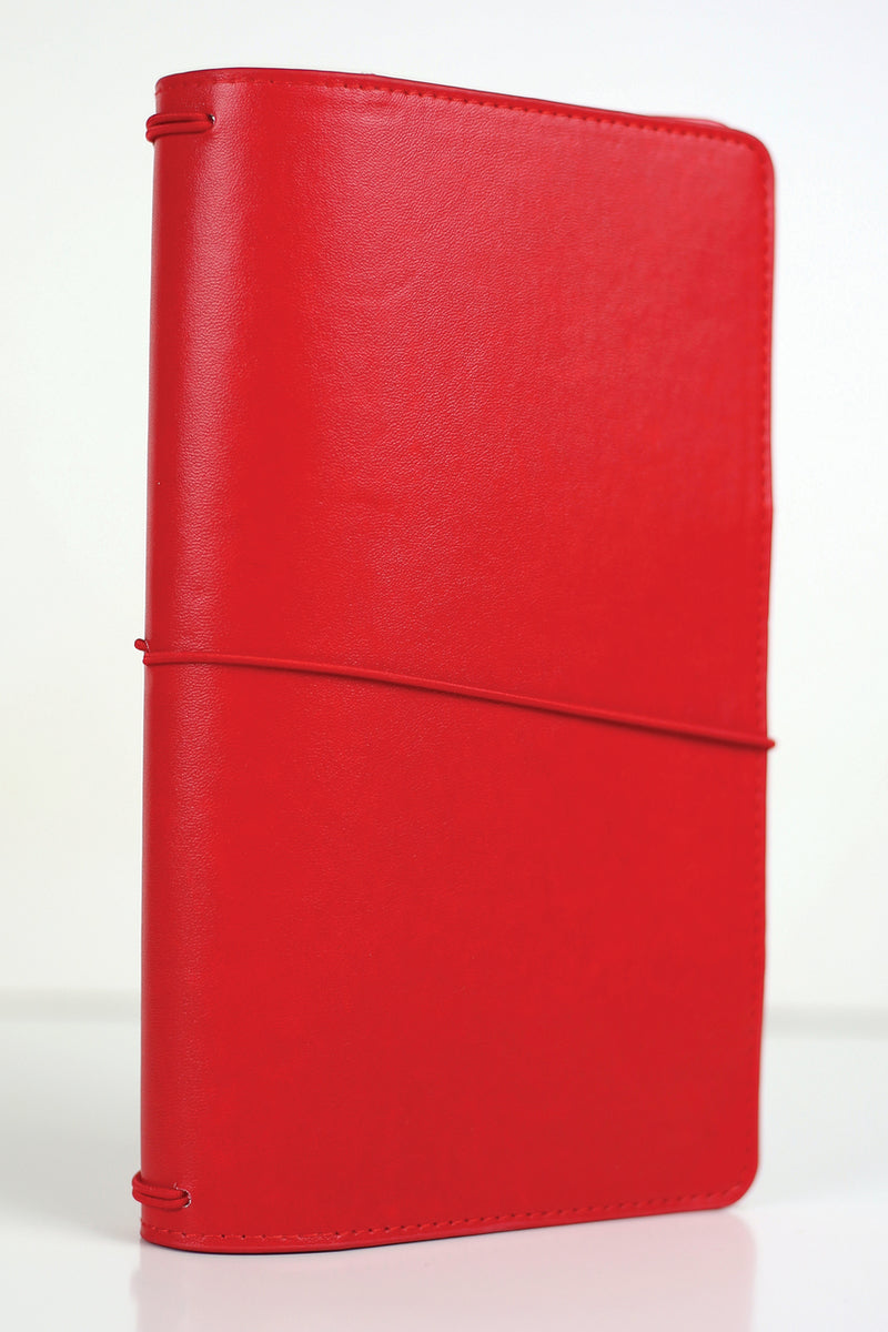Red Traveler's Notebook