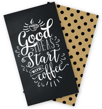 Load image into Gallery viewer, Coffee/Polka Dot Traveler's Notebook Inserts