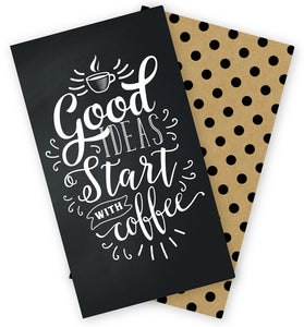 Coffee/Polka Dot Traveler's Notebook Inserts