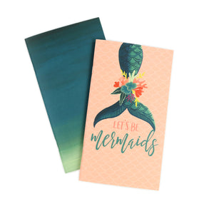 Let's Be Mermaids Traveler's Notebook Inserts