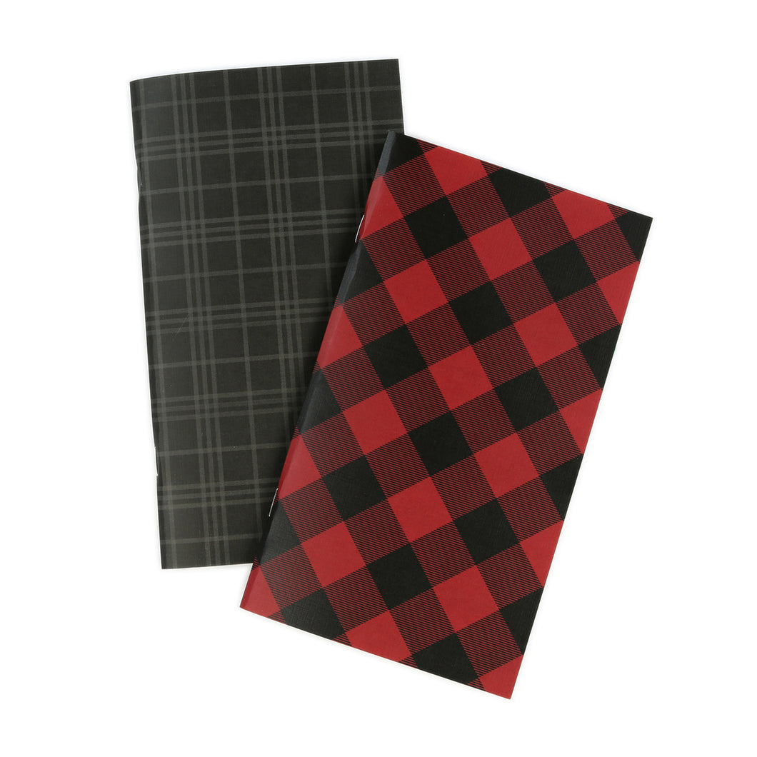 Plaid Traveler's Notebook Inserts