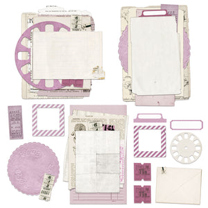 Vintage Artistry Lilac Collage Stack