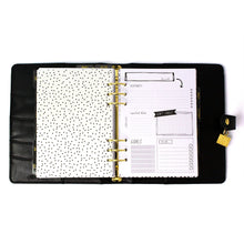 Load image into Gallery viewer, SPECIAL ORDER - Black A5 Planner