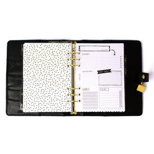 SPECIAL ORDER - Black A5 Planner