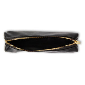*PRE-ORDER* Black Slim Pencil Case
