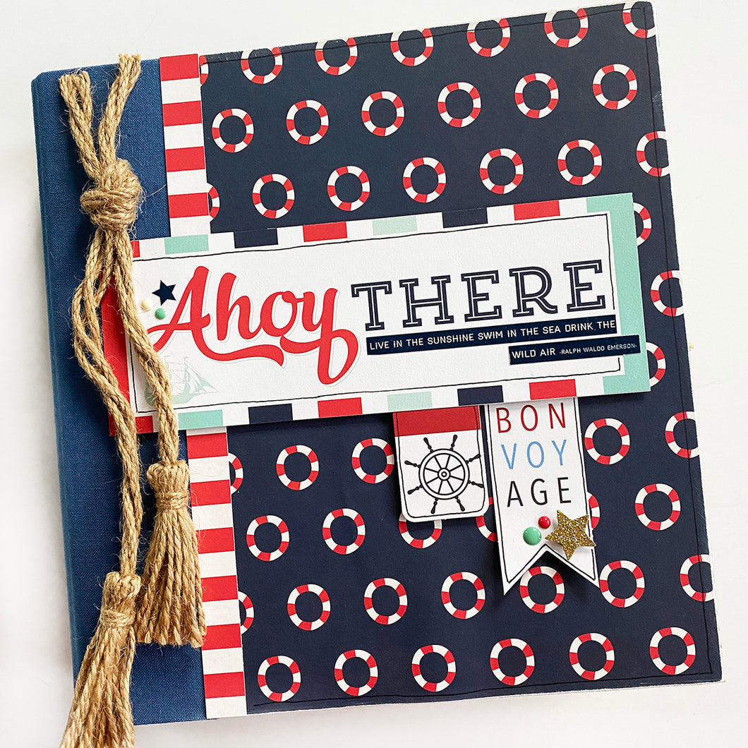 Ahoy There 6x8 Album Kit