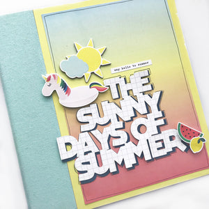 The Sunny Days of Summer Album Kit