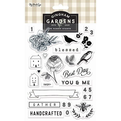 Gingham Gardens Acrylic Stamps
