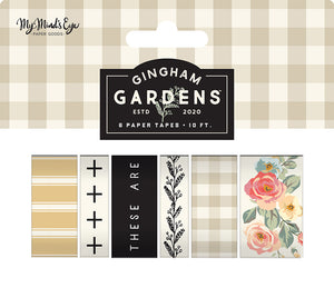 Gingham Gardens Washi Tape