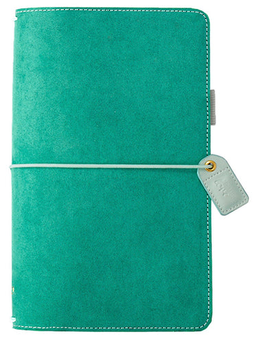 Green Suede Traveler's Notebook