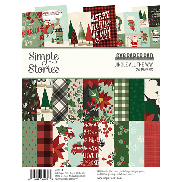 Jingle All the Way 6x8 Paper Pad