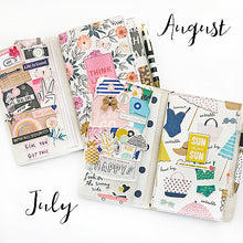 Load image into Gallery viewer, July/August Traveler's Notebook Kit