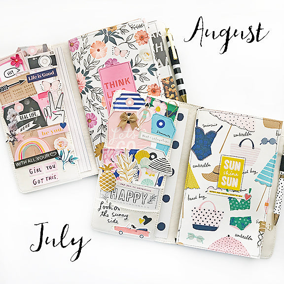 July/August Traveler's Notebook Kit