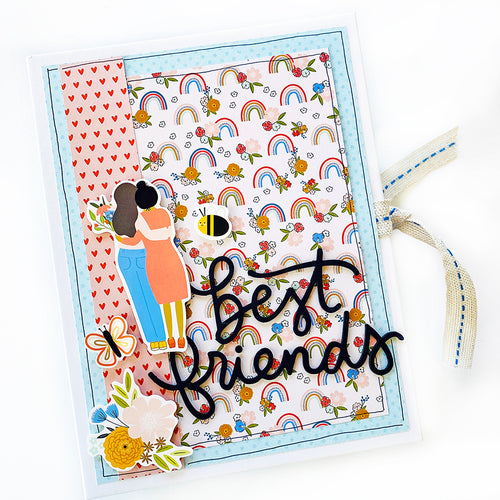 Best Friends 6x8 Mini Book Kit