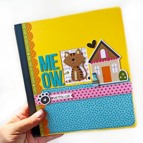 The Cat's Meow Mini Book Project Kit