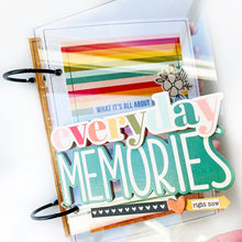 Load image into Gallery viewer, Everyday Memories Mini Book Project Kit