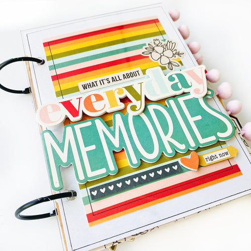 *PRE-ORDER* Everyday Memories Mini Book Project Kit