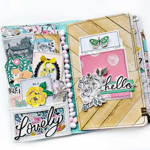 Garden Party Traveler's Notebook Kit