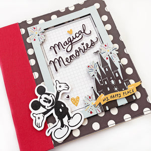 Smiles From Ear to Ear Disney Mini Book Project Kit