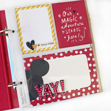 Load image into Gallery viewer, Smiles From Ear to Ear Disney Mini Book Project Kit