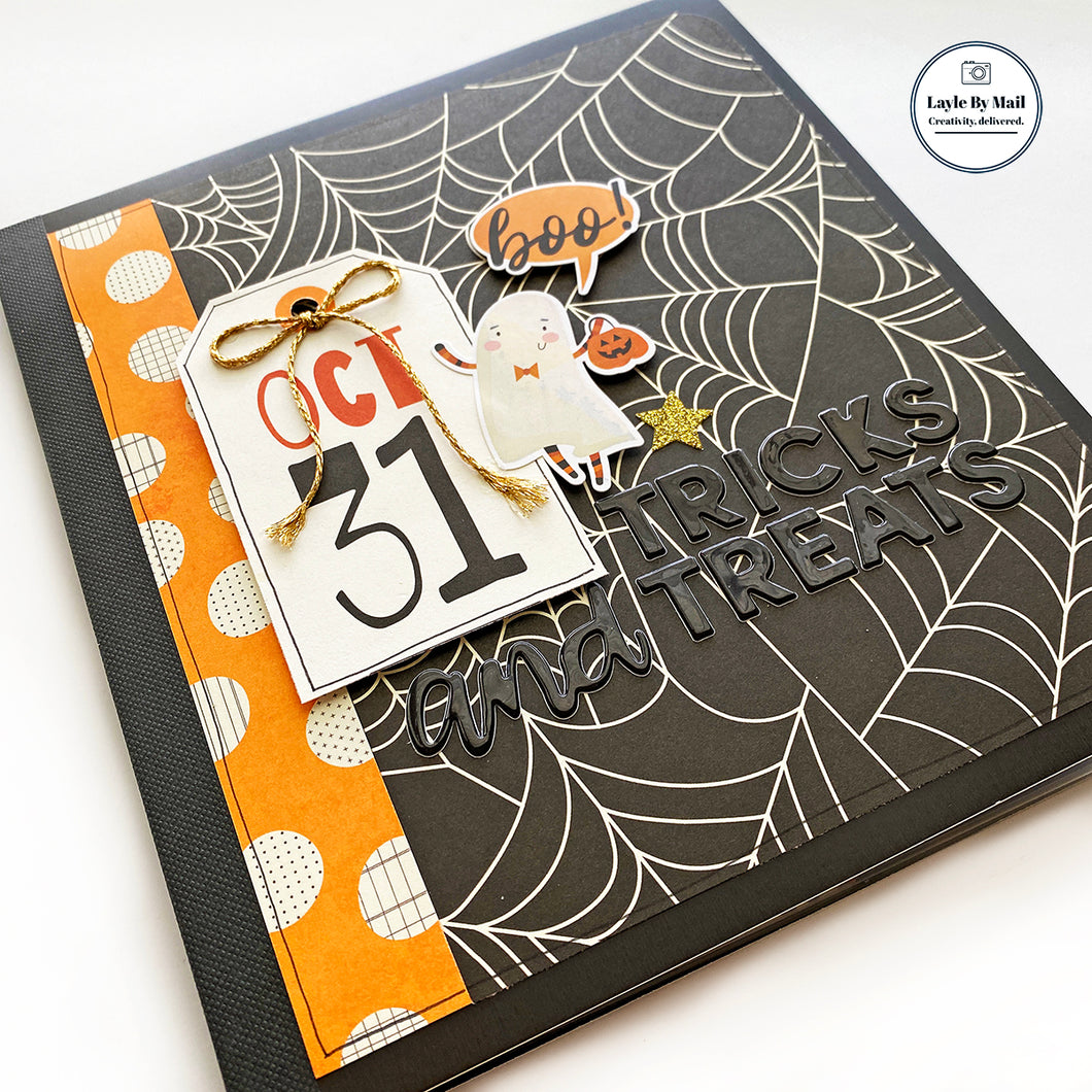 Tricks & Treats Mini Book Kit