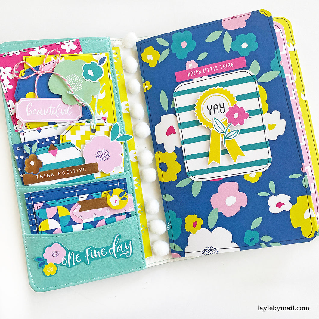 Floral Traveler's Notebook Kit