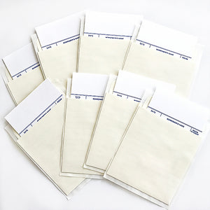 8 Pack Library Book Pockets & Cards - Self Adhesive