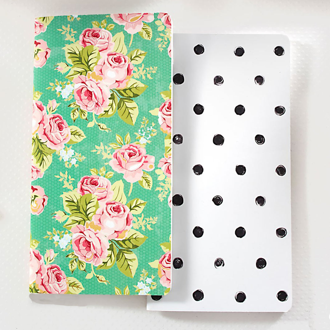 Floral/Dot Inserts