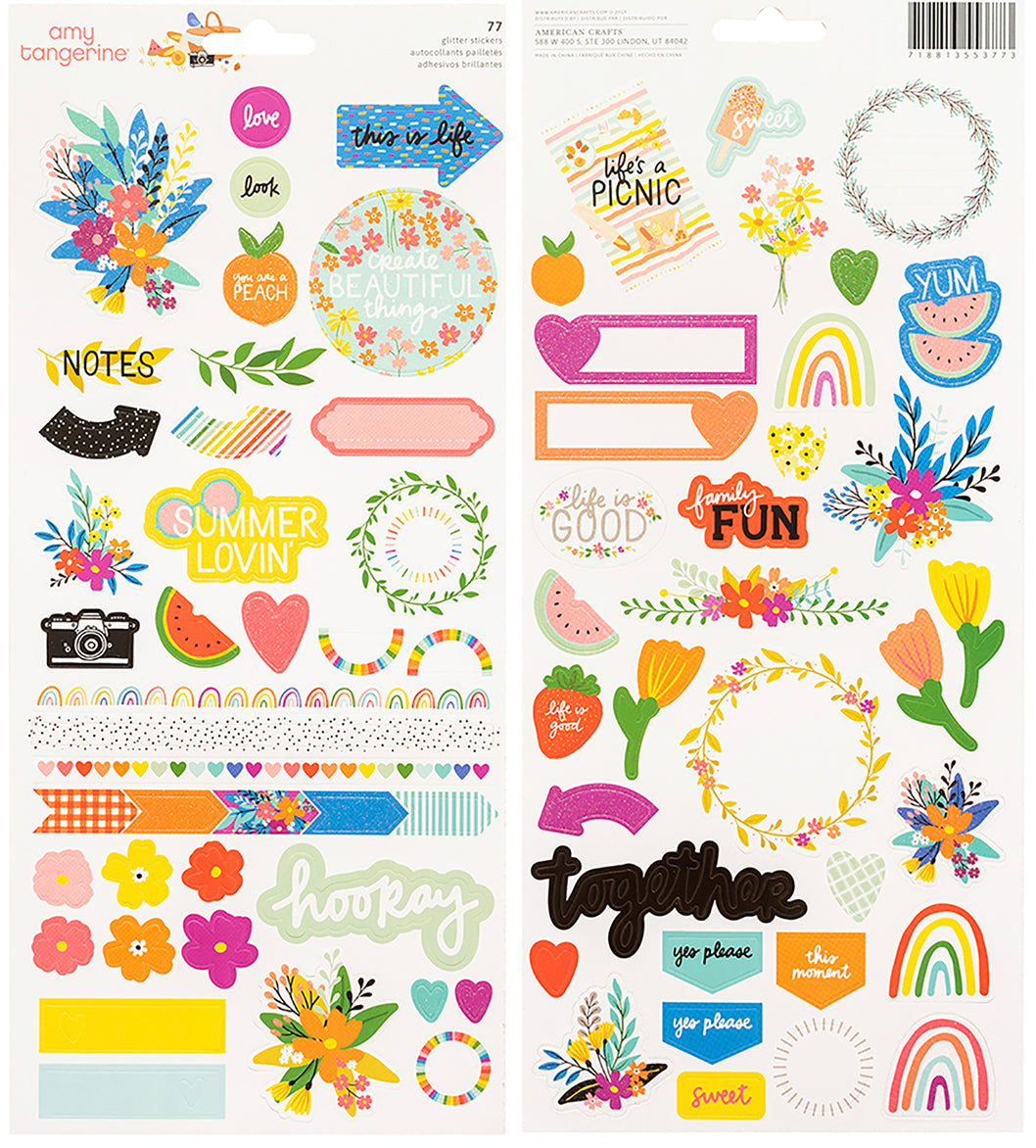 Picnic in the Park Stickers