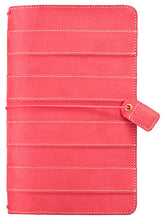 Load image into Gallery viewer, Pink Suede Traveler's Notebook