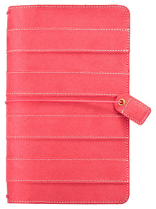 Pink Suede Traveler's Notebook