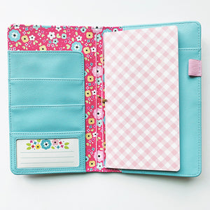 Poppy Dot Scallop Traveler's Notebook
